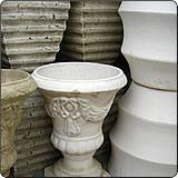 欧式罗纹及浮雕花盆